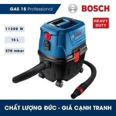 Máy hút bụi đa năng Bosch GAS 15 Professional 1100W 15L