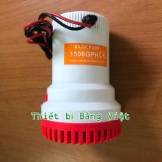 Máy Hút Chất Bẩn, Hút Đáy Bể, Dọn Vệ Sinh Bể Cá 12V- 1500GPH - High Flow Water Bilge Pump