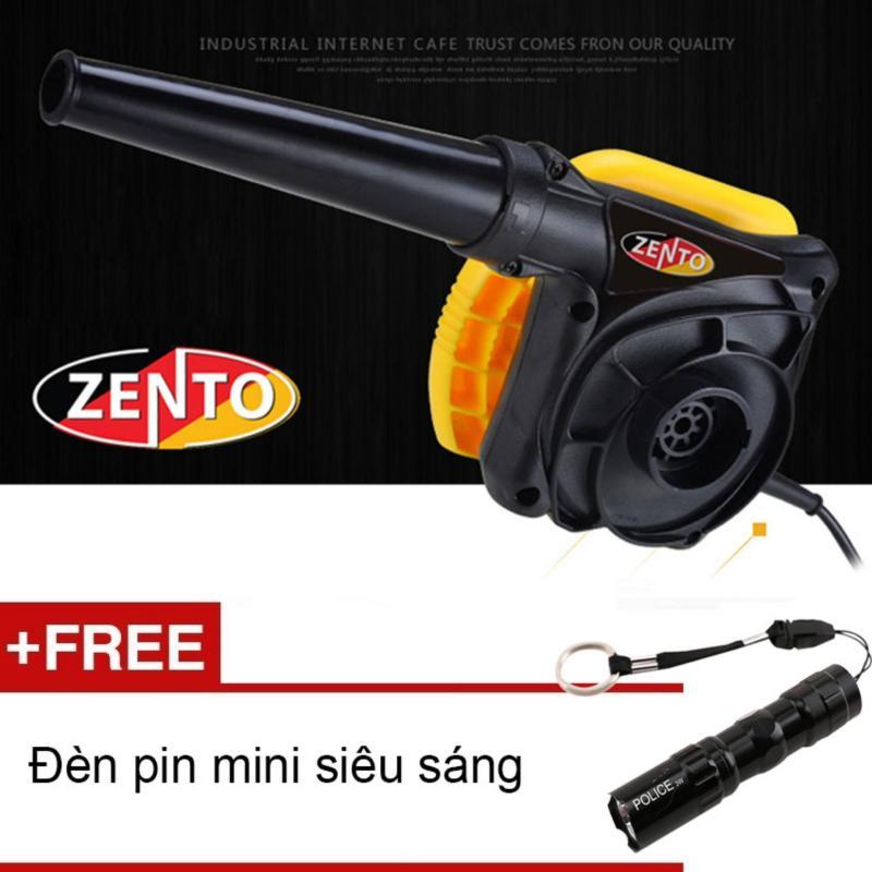 Máy hút, thổi bụi cầm tay High power Zento JS2403 (Tặng đèn pin mini Zento)