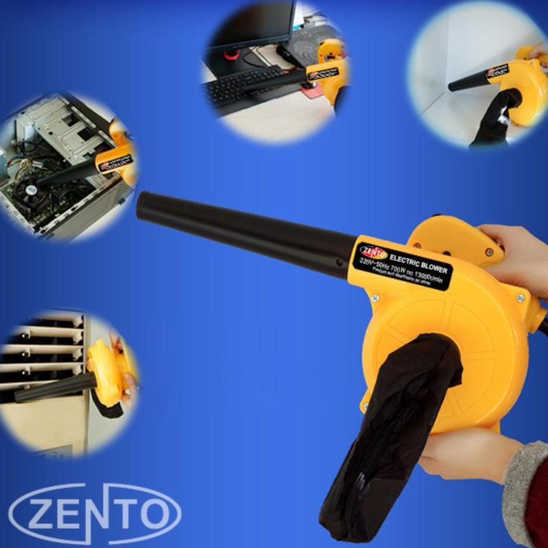 Máy hút, thổi bụi cầm tay Zento JS2402-new ( vàng )
