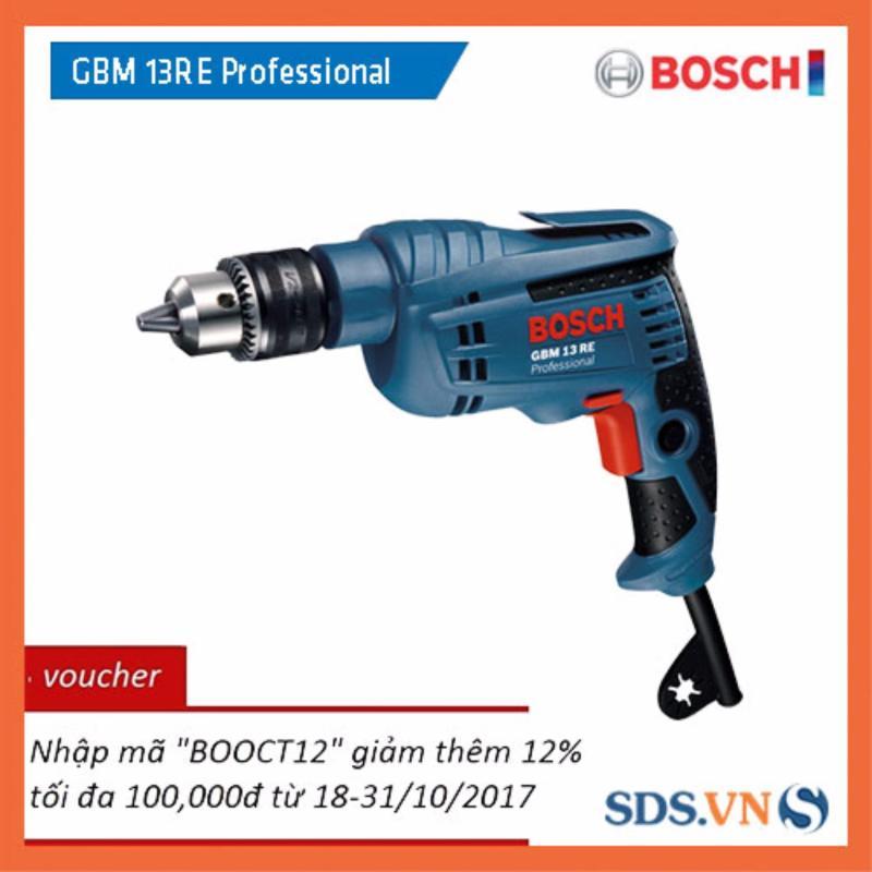 Máy khoan Bosch GBM 13 RE Professional + Tặng 1 đầu vít ngắn và 1 đầu vít dài