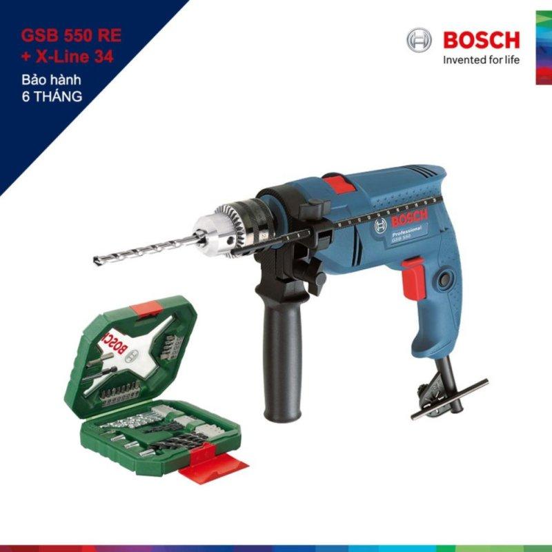 Máy khoan Bosch GSB 550RE Xline