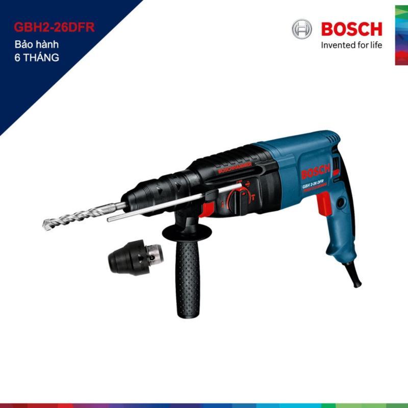 Máy khoan búa Bosch GBH2-26DFR 26mm (Xanh)