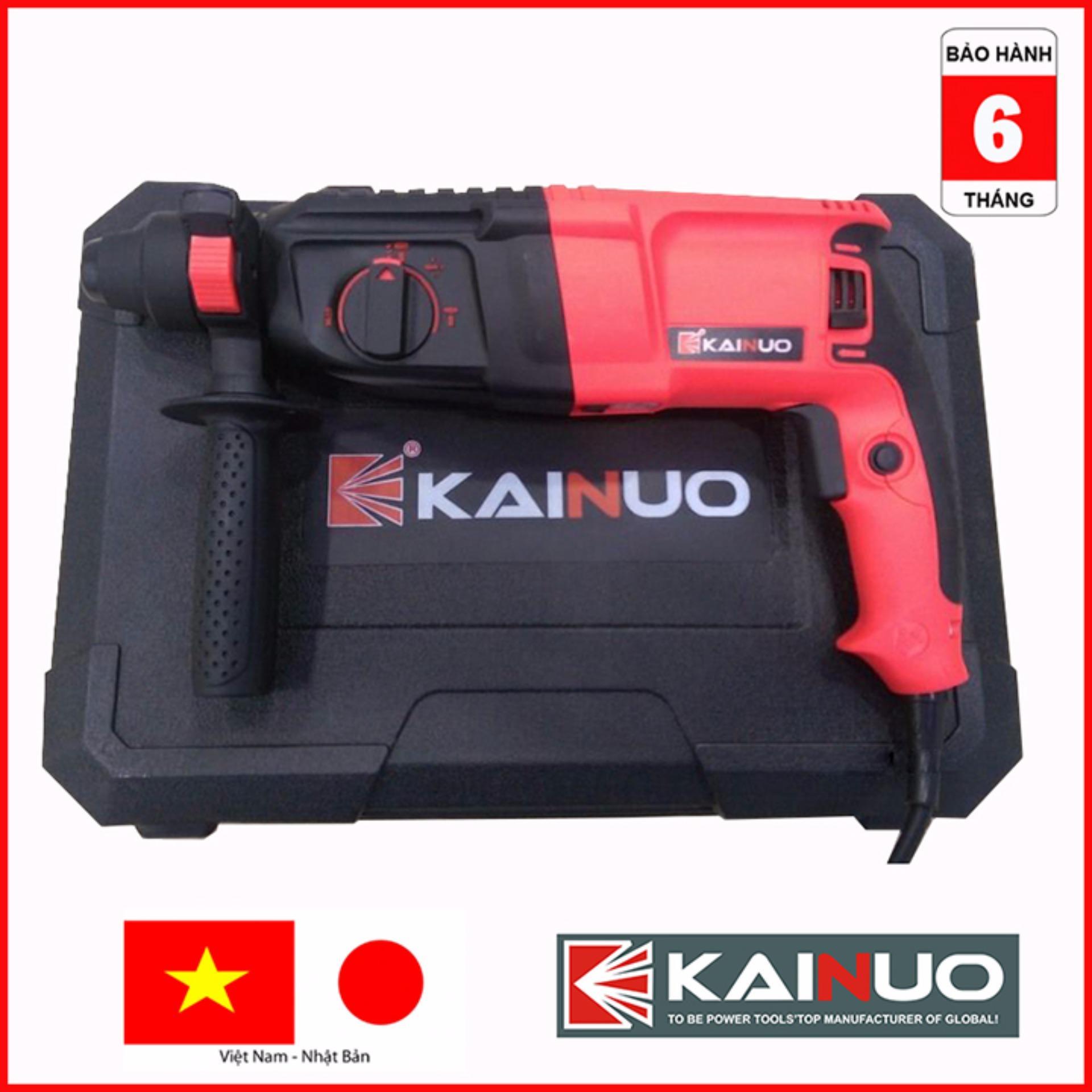 Máy khoan búa KAINUO KN8267 800w 5 mũi