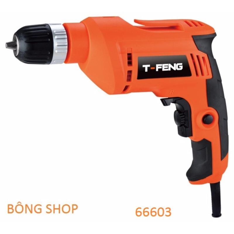 Máy khoan cầm tay T-FENG Mod.66603 600W (Cam)