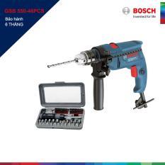 Máy khoan động lực Bosch GSB 550 và bộ dụng cụ 46 chi tiết