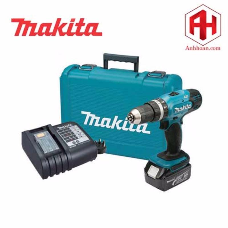 Máy khoan dùng pin Makita DHP453SF (18V:3Ah)