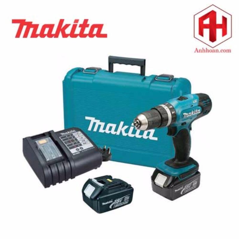 Máy khoan dùng pin Makita DHP453SFE (18V:3Ah)