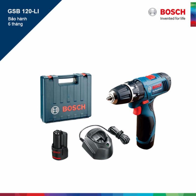 Máy khoan vặn vít dùng pin Bosch GSB 120-LI Professional