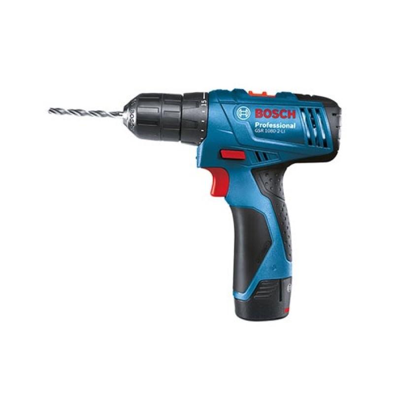 Máy khoan vặn vít dùng pin Bosch GSR 1080-2-LI