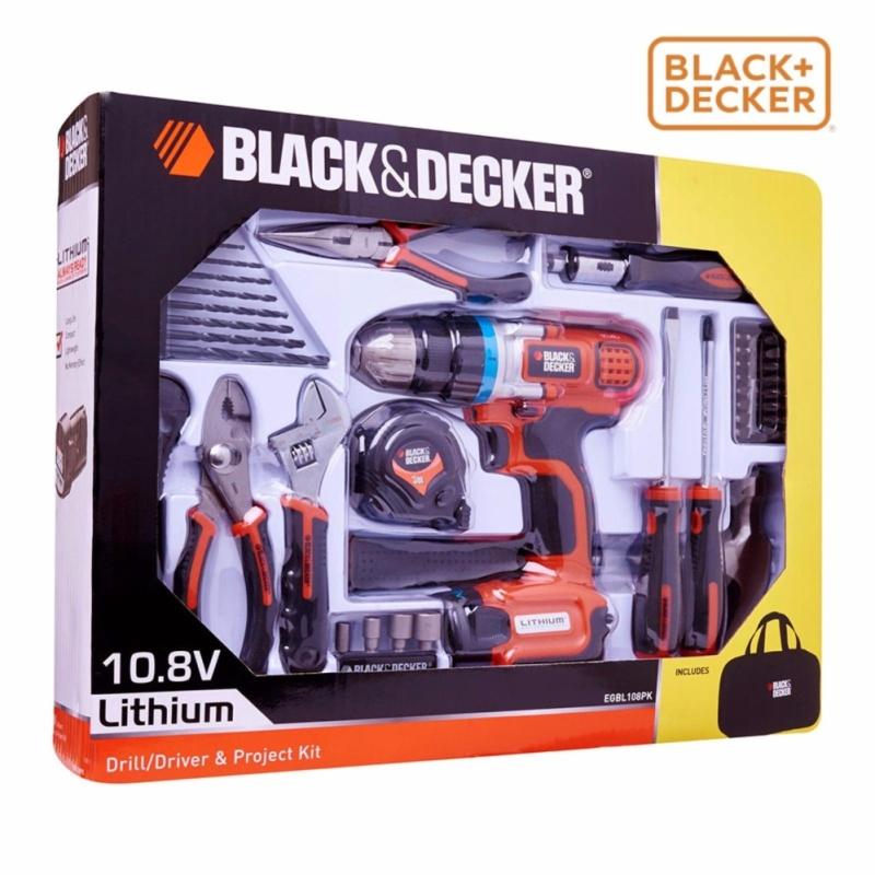 Máy khoan/vặn vít dùng pin BLACK & DECKER EGBL108PK-B1 10.8V