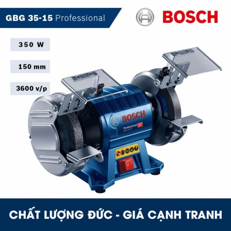 Máy mài để bàn hai đá Bosch GBG 35-15 Professional - HEAVY DUTY - Hãng phân phối chính thức