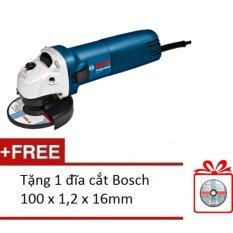 Máy mài góc Bosch GWS 060 Professional 670W - Tặng 1 đĩa cắt Bosch 100 x 1,2 x 16mm