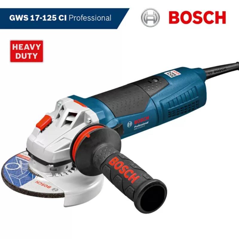 Máy mài góc Bosch GWS 17-125 CI Professional (Xanh).