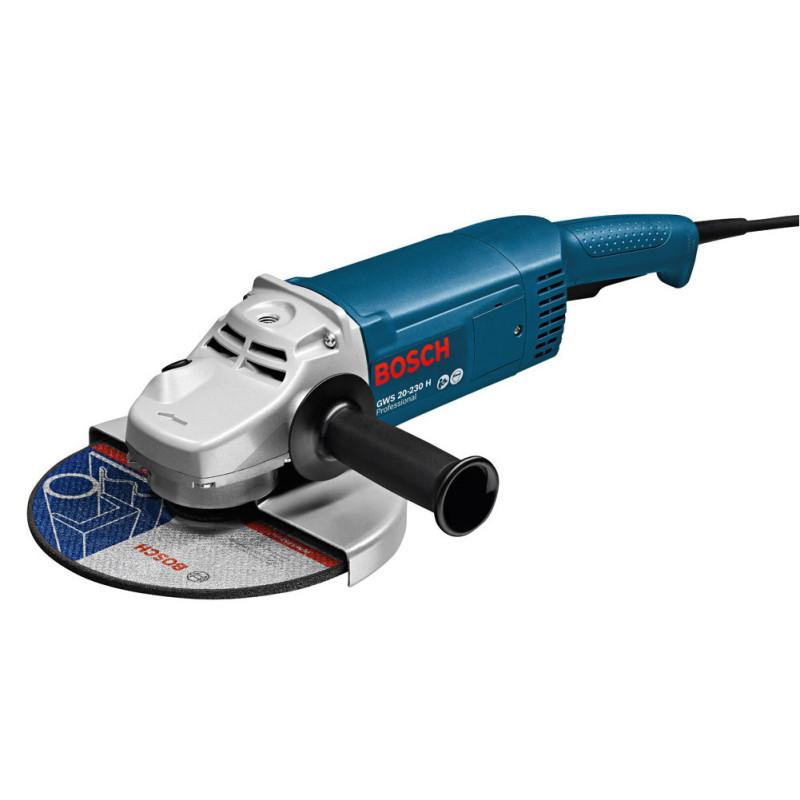 Máy mài góc Bosch GWS 20-230 Professional (Xanh)