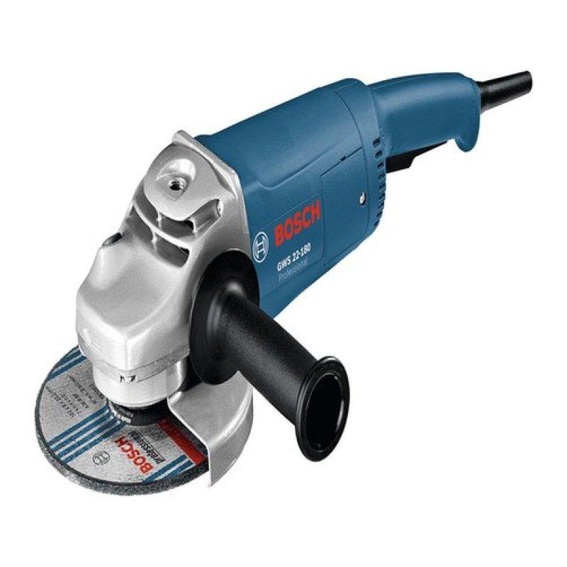 Máy mài góc Bosch GWS 22-180 Professional (Xanh)