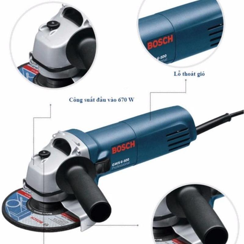 Máy mài góc Bosch GWS 6-100E Professional 670W