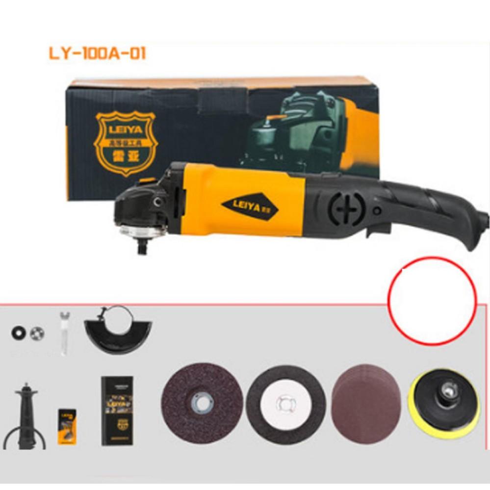 Máy mài góc Leiya Mỹ công suất 980w - tặng bộ đĩa cắt, bộ mài