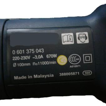 Máy Mài Professional 670W Made in Malaysia