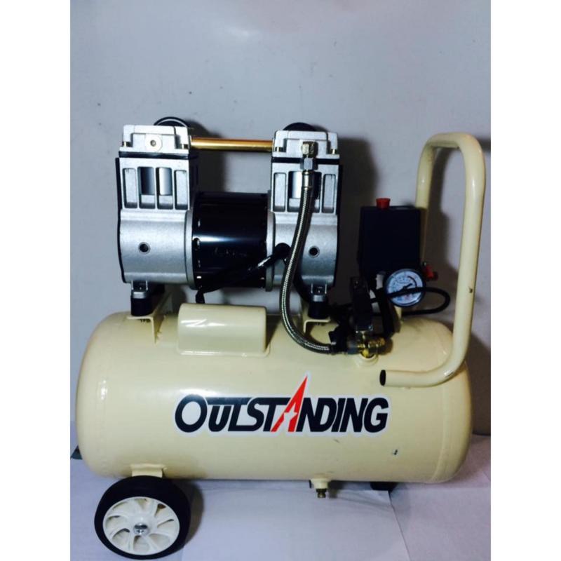 Máy nén khí không dầu giảm âm 950W 30L Outstangding