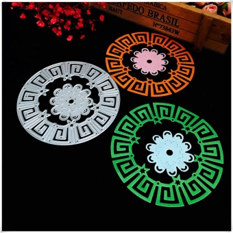 Metal Cutting Dies Stencils For DIY Scrapbooking Photo Album Paper Card Gift G - intl