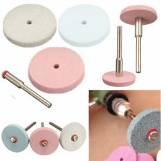 Mini Electric Grinding Flexible Wheel Polishing w/ 3mm Pole for Resin Porcelain Grey - Intl