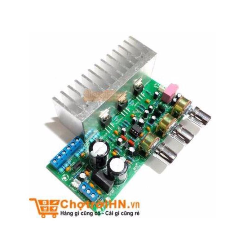 Bảng giá Mua Module Âm Ly TDA2030+TDA2050 2.1 3Chanel 60W Siêu Trầm