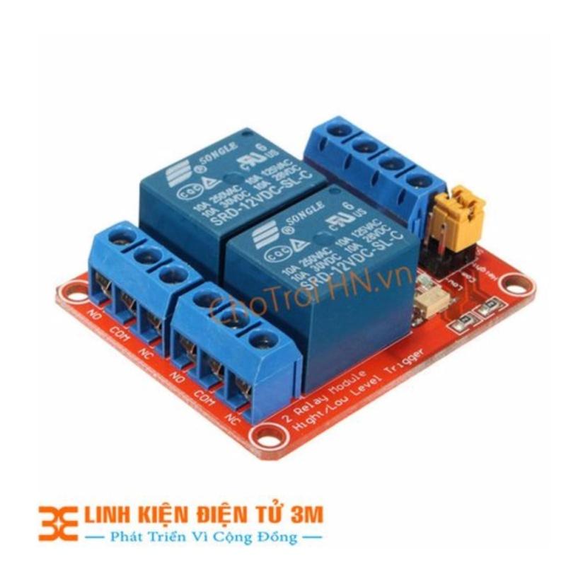 Bảng giá MODULE Relay 12VDC 2 Kênh H/L