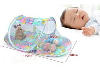 Mùng ngủ vải hoa chống muỗi cho em bé Hanghot365