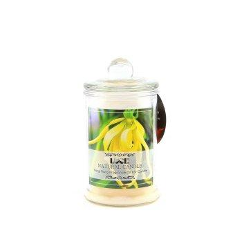 Nến thơm lọ thủy tinh tinh dầu ngọc lan Ecolife - 2