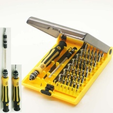 New Super 45 in 1 Hardware Screw Driver Laptops Manual Tool Set Kit For Computer Unharmed - intl