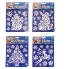 Giá Niêm Yết Nhãn dán bông tuyết lấp lánh 4 kiểu UBL XB1274  Uncle  Bills