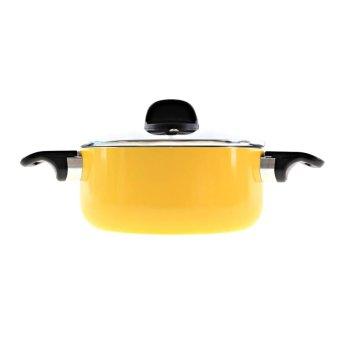 Nồi canh đơn màu sắc dùng cho bếp từ Supor S08A20IH phi 20cm(Vàng)