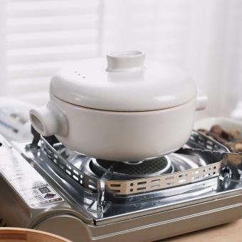 Nồi nấu hấp cao cấp Bealu 2.5L (Trắng)