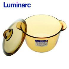 Nồi thủy tinh Luminarc Vitro Amberline 5L_D2796 (Vàng)