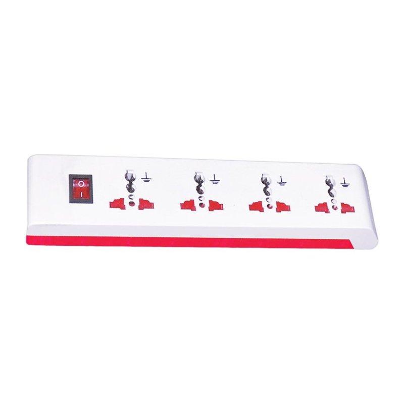 Bảng giá Ổ cắm 4 lỗ 3 chấu dây 2m Điện Quang ĐQ ESK 2W OA104A 2500W
