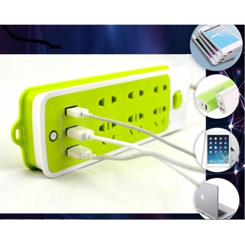 Bảng giá Ổ CẮM ĐA NĂNG GỒM 6 Ổ CẮM + 3 CỔNG XẠC USB TIỆN LỢI