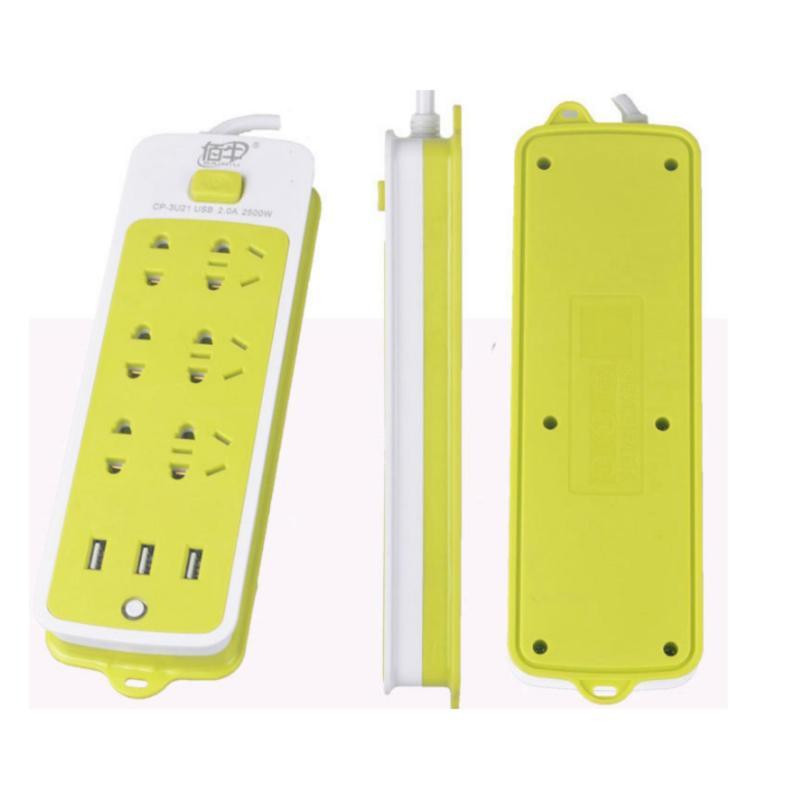 Bảng giá Mua Ổ cắm điện 6 phích cắm, 3 cổng USB