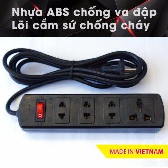 Ổ cắm điện công suất cao chuyên cho bếp điện từ, nhựa ABS, 2.5m 4H3 (Đen) - 10272529 , NO007HLAA3FWUGVNAMZ-6059128 , 224_NO007HLAA3FWUGVNAMZ-6059128 , 95500 , O-cam-dien-cong-suat-cao-chuyen-cho-bep-dien-tu-nhua-ABS-2.5m-4H3-Den-224_NO007HLAA3FWUGVNAMZ-6059128 , lazada.vn , Ổ cắm điện công suất cao chuyên cho bếp điện từ, nhựa AB