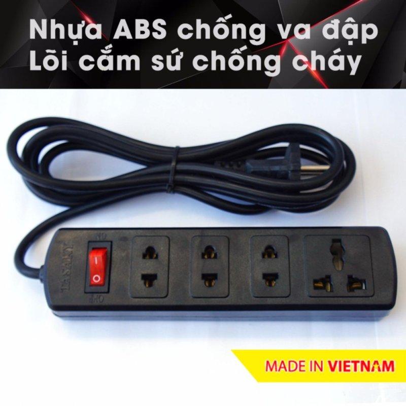 Bảng giá Ổ cắm điện công suất cao chuyên cho bếp điện từ, nhựa ABS, 4.5m 4A5 (Đen)