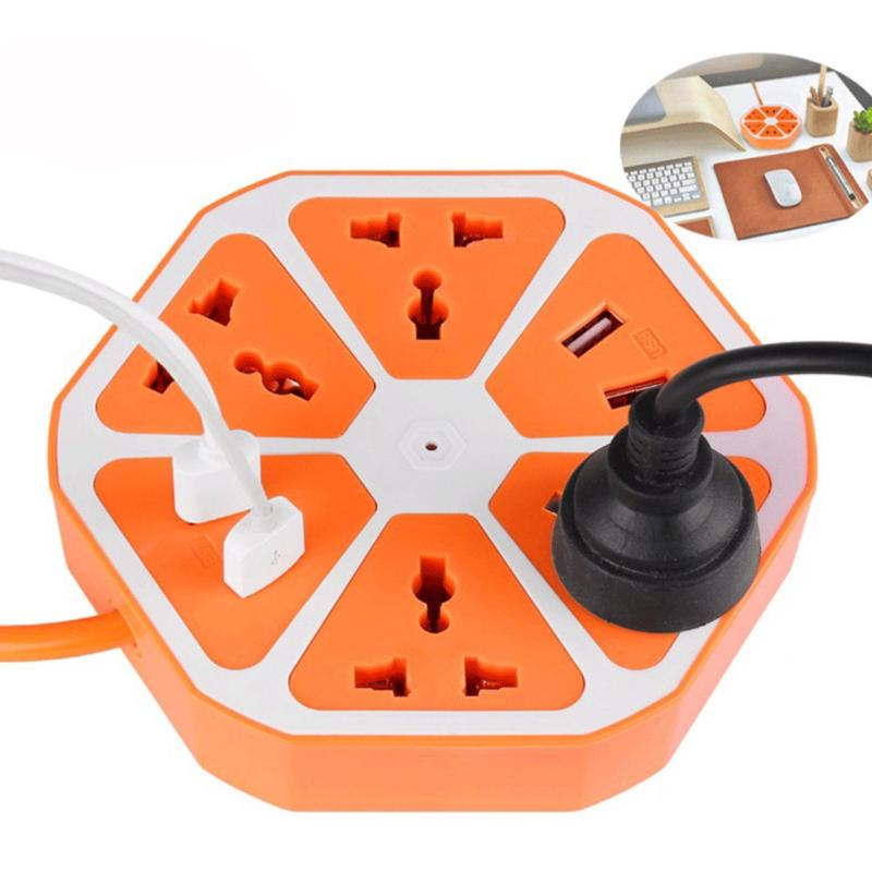 Bảng giá Ổ cắm điện đa năng kiêm 4 Usb BenHome sạc Pin Smartphone (Cam)(Camel)