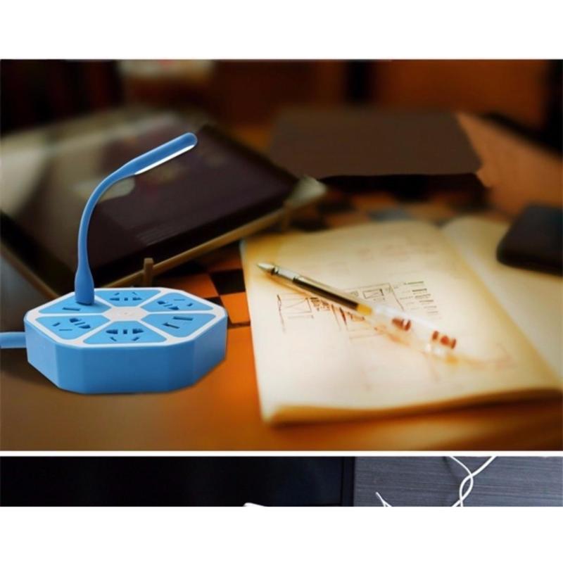 Bảng giá Ổ cắm điện hình Lục giác có cổng USB Đa năng - bảo hành 3 tháng