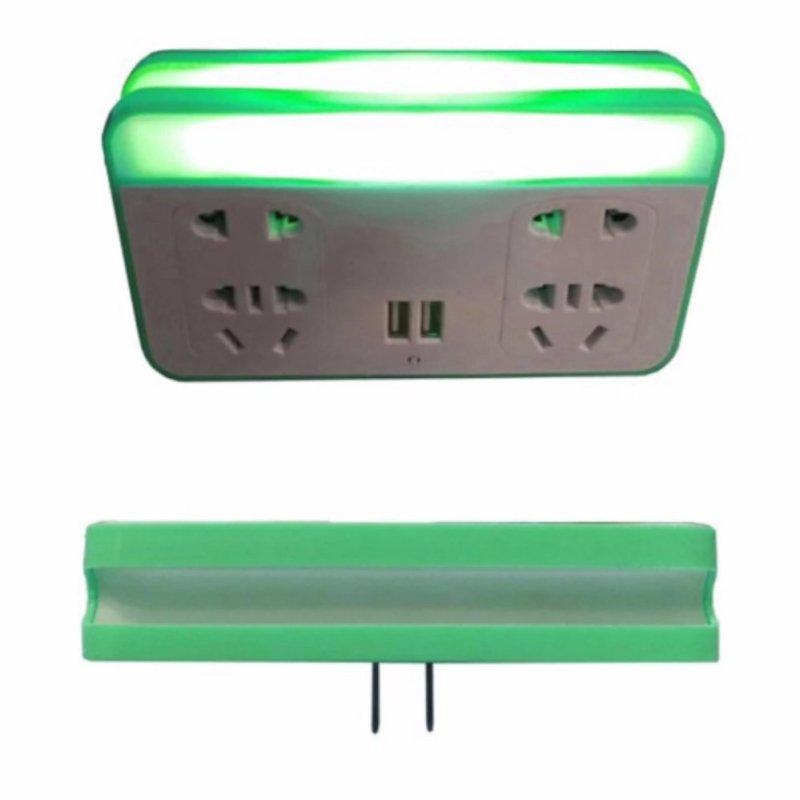 Bảng giá Mua Ổ cắm điện quang kèm đèn ngủ (Xanh cốm) + tặng nhiệt kế điện tử