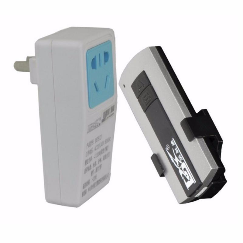 Bảng giá Mua Ổ cắm điều khiển từ xa 1500W kèm điều khiển (remote) bằng sóng Radio RF