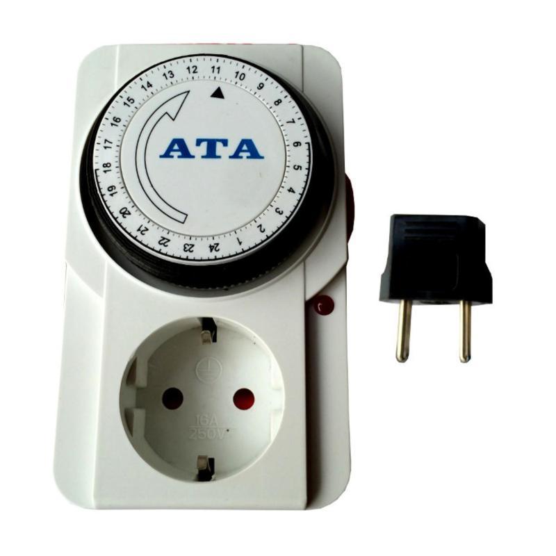 Bảng giá Ổ cắm hẹn giờ tắt mở dạng cơ ATA AT-24A