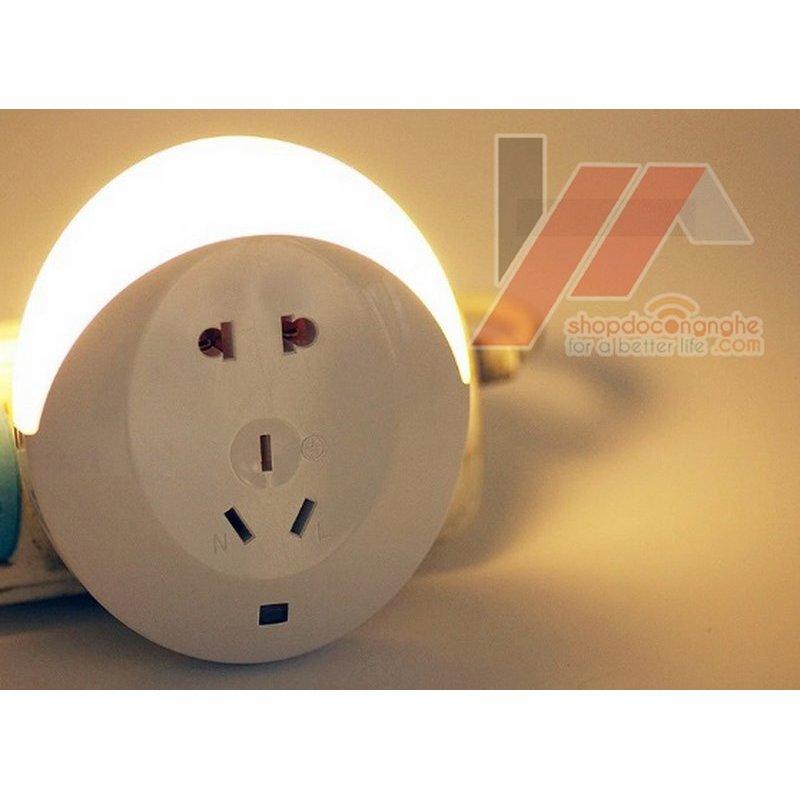 Bảng giá Mua Ổ cắm kèm đèn led cảm ứng -AL