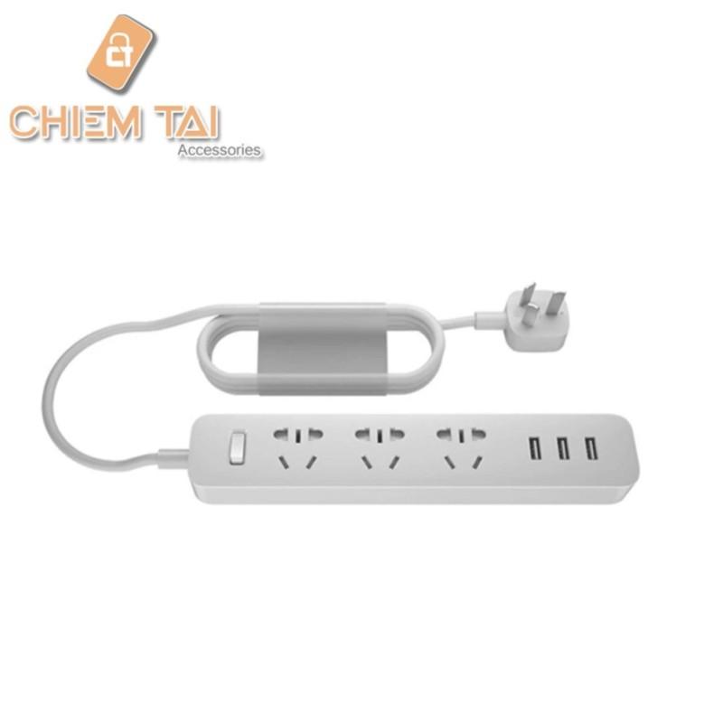 Bảng giá Ổ cắm Mi Power Strip tích hợp cổng sạc USB
