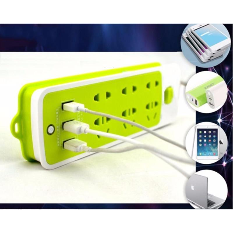 Bảng giá Ổ điện đa năng - 3 đầu cắm USB KHGR.1010