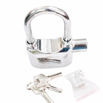 Ổ khóa báo động chống trộm 110DBA (bạc) loại ngắn an toàn - 2