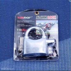 Ổ khóa báo động chống trộm AL ARM LOCK 110dba (đen)